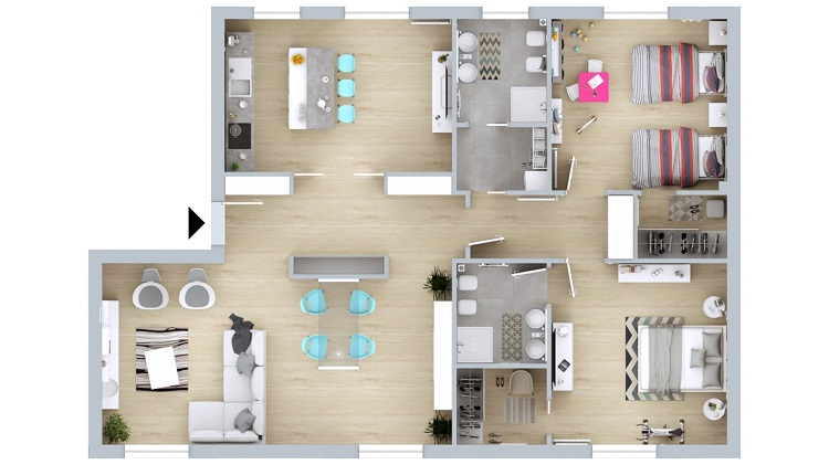 planimetrie per agenzie immobiliari